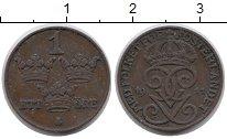 Изображение Монеты Швеция 1 эре 1911 Бронза XF