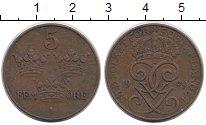 Изображение Монеты Швеция 5 эре 1929 Бронза XF