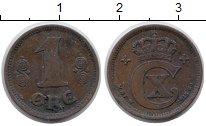 Изображение Монеты Дания 1 эре 1915 Бронза XF