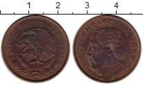 Изображение Монеты Мексика 10 сентаво 1958 Бронза XF