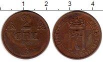 Изображение Монеты Норвегия 2 эре 1935 Бронза XF