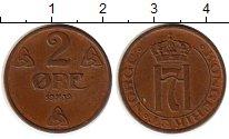 Изображение Монеты Норвегия 2 эре 1939 Бронза XF