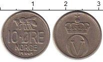 Изображение Монеты Норвегия 10 эре 1969 Медно-никель XF