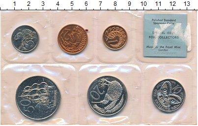 Изображение Подарочные монеты Новая Зеландия Новая Зеландия 1968 1968  UNC В наборе 6 монет ном