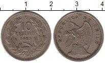 Изображение Монеты Чили 10 сентаво 1938 Медно-никель XF