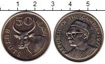 Изображение Монеты Гамбия 50 бутут 1971 Медно-никель XF