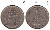 Изображение Монеты Зимбабве 10 центов 1994 Медно-никель VF