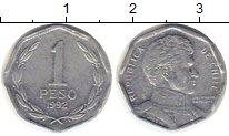 Изображение Монеты Чили 1 песо 1992 Алюминий XF