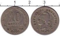 Изображение Монеты Аргентина 10 сентаво 1898 Медно-никель VF