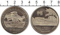 Монета Финляндия 5 экю Медно-никель 1992 UNC фото