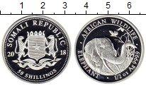 Изображение Монеты Сомали 50 шиллингов 2018 Серебро Proof