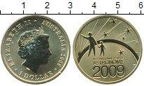 Изображение Мелочь Австралия 1 доллар 2009 Латунь UNC