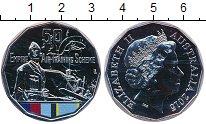 Изображение Мелочь Австралия 50 центов 2015 Медно-никель UNC