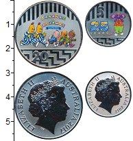 Изображение Наборы монет Австралия Набор 2017 года 2017 Медно-никель UNC В наборе 2 монеты но