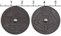 Изображение Монеты Бельгия 25 сантим 1943 Цинк XF