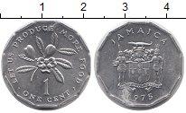 Изображение Монеты Ямайка 1 цент 1975 Алюминий UNC