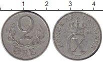 Изображение Монеты Дания 2 эре 1941 Алюминий VF