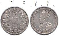 Изображение Монеты Канада 25 центов 1929 Серебро VF