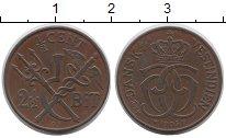 Изображение Монеты Дания Датская Вест-Индия 1 форинт 1905 Медь XF