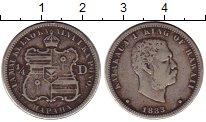 Изображение Монеты США Гавайские острова 1/4 динеро 1883 Серебро VF
