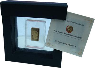 Изображение Подарочные монеты Беларусь 50 рублей 2014 Золото Proof Икона Казанской Прес