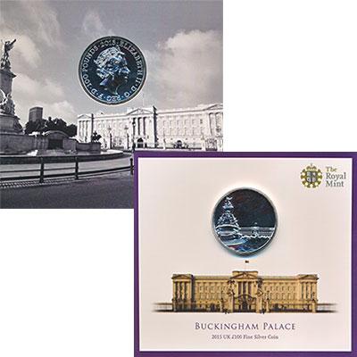 Изображение Подарочные монеты Великобритания 100 фунтов 2015 Серебро UNC