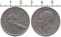 Изображение Монеты Танзания 1 шиллинг 1980 Медно-никель XF