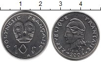 Изображение Монеты Франция Полинезия 10 франков 2004 Медно-никель XF