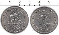 Изображение Монеты Франция Полинезия 20 франков 1977 Медно-никель XF