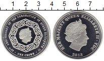 Изображение Монеты Великобритания Тристан-да-Кунья 1 крона 2013 Посеребрение Proof