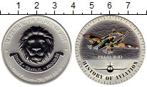 Изображение Монеты Бурунди 5000 франков 2015 Серебро Proof