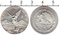 Изображение Монеты Мексика 1/4 унции 1998 Серебро UNC-