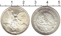 Изображение Монеты Мексика 1/4 унции 1991 Серебро UNC-