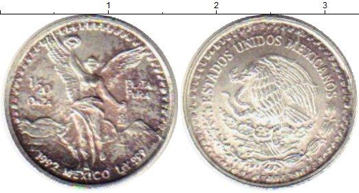 Картинка Монеты Мексика 1/20 унции Серебро 1992