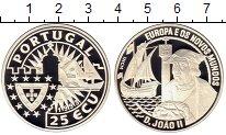 Изображение Монеты Португалия 25 экю 1992 Серебро Proof