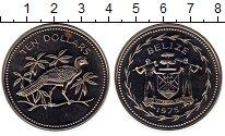 Изображение Монеты Белиз 10 долларов 1975 Медно-никель UNC-