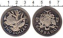 Изображение Монеты Барбадос 2 доллара 1974 Медно-никель Proof-