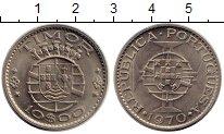 Изображение Монеты Тимор 10 эскудо 1970 Медно-никель UNC-