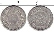 Изображение Монеты Антильские острова 1 цент 1993 Алюминий XF