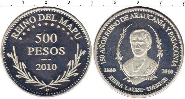 Картинка Монеты Аргентина 500 песо Серебро 2010