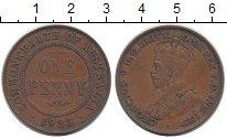 Изображение Монеты Австралия 1 пенни 1933 Бронза XF