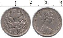 Изображение Монеты Австралия 5 центов 1967 Медно-никель XF