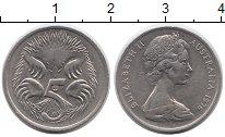 Изображение Монеты Австралия 5 центов 1976 Медно-никель XF