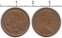 Изображение Монеты Австралия 1 цент 1974 Бронза XF