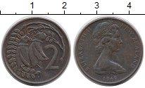 Изображение Монеты Новая Зеландия 2 цента 1969 Бронза XF