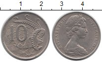 Изображение Монеты Австралия 10 центов 1972 Медно-никель XF