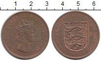 Изображение Монеты Великобритания Остров Джерси 1/12 шиллинга 1966 Бронза XF