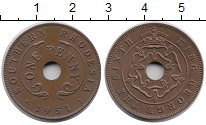 Изображение Монеты Великобритания Родезия 1 пенни 1951 Бронза XF