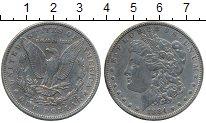 Изображение Монеты США 1 доллар 1884 Серебро VF