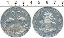 Изображение Монеты Багамские острова 2 доллара 1974 Серебро UNC-
